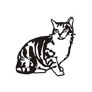 Cat decorative wall mount