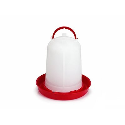 Eco chicken drinker, 8 l. Red