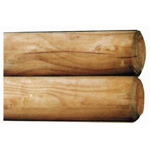 Wooden jumping poles