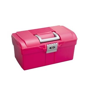 Small grooming case, Pink & Grey handle