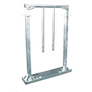 Back-up stopper galvanized gate for sheep