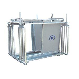 Cage de contention ovin pour soins Satène