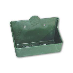 Horizontal plastic salt bloc holder for 2kg blocks