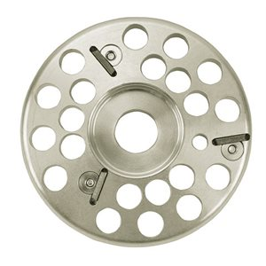 Hoof aluminum grinding disc with 3 knifes