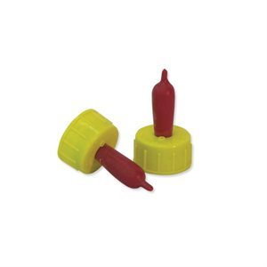 Screw nipples for lamb, Latex, Red pkg / 4