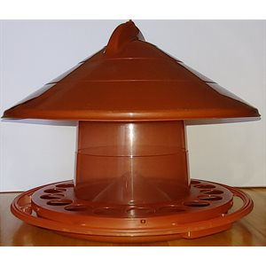 Feeder for birds 2kg - Brown