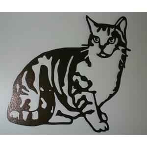 Décoration murale chat petit
