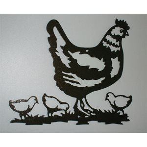 Chicken wall decoration