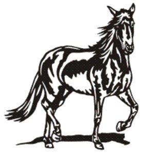 Spanish horse wall decoration