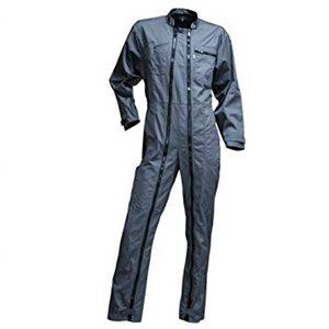 Combinaison rondelle grise, zip noir