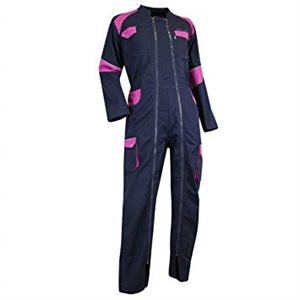 Coverall for women - NavyBlue / Pink