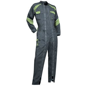 Coverall for women - Grey / Green