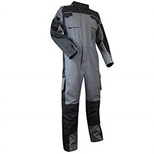 Coverall PAILLE Grey / Black
