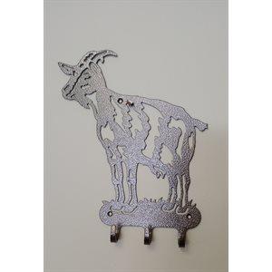 Support mural décoratif chèvre