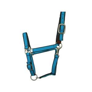 Licol cheval (Breakaway) - Bleu