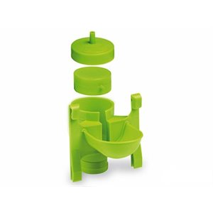 Metal & plastic automatic drinker only, Green Lemon