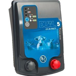 Électrificateur Dual D5, 12 & 110 V. 5 J.