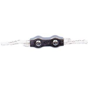 Connecteur pour corde 6 mm galvanisé (emb / 5)