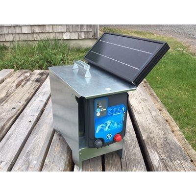 Ensemble électrificateur solaire pastor